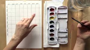 Watercolor Palette Chart Watercolor Mixing Chart Tutorial
