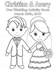 30 Free Printable Wedding Coloring Pages Beautifully Decorated