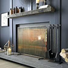 modern fireplace screens contemporary modern fireplace screens custom modern fireplace screens