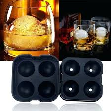 bourbon ice cube tray whiskey bourbon ice cube ball maker mold sphere mould party tray round bar silicone