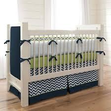 contemporary chevron baby bedding gray nursery crib