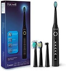 Fairywill <b>Electric</b> Toothbrush for Adults and Kids, Rechargeable ...