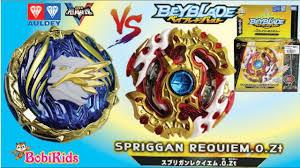 Beyblade Burst God ❤️ Vòng Xoáy Thần Tốc ❤️ Spriggan Requiem .0.Zt Starter  (B-100) Vs Nado V - YouTube