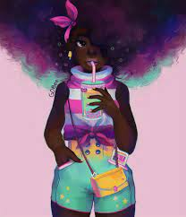 Afro Black Girl Wallpapers - Top Free ...