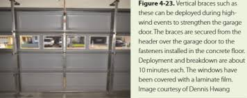 garage door braceProtecting Your Property  Virginia Homeowners Handbook