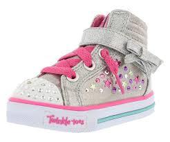 Skechers Kids Twinkle Toes Heart And Sole Light Up Sneaker Skechers Kids Girls Shoutouts 84308l Little Kid Big Kid