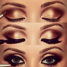 bronzey smokey eye makeup tutorial my wedding makeup yutorial watch share and learn video tutorials