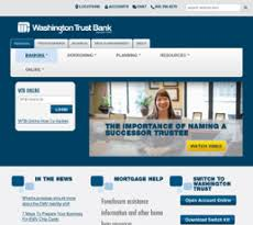Washington Trust Bank Customer Service Watrust Competitors Revenue And Employees Owler Company Profile