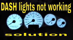 2008 Dodge Avenger Instrument Panel Lights 2008 Chrysler Sebring Dash Lights Not Working