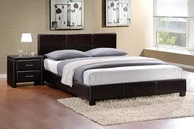 zoey dark brown platform bed dd furniture store