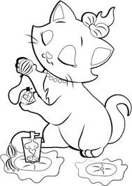 Small Picture Kitten Coloring Pages to Print Coloring Pages 34 Free