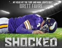 brett favre has a new concussion documentary prefers grandsons  poster prnewsfoto kmg media brett favre s