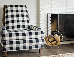 black white buffalo check chairs brittanymakes
