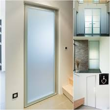 glass design door with aluminium