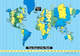 Time Zones World Time Zones And Free Time Zone Map
