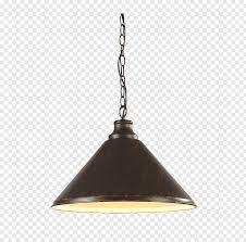 Light Bulb Socket Chandelier Black And Brown Lit Pendant Lamp Illustration Light Fixture