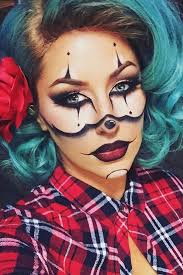 33 y makeup looks that are creepy yet cute