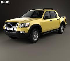 Ford Explorer Sport Trac 2006 3D model - Hum3D