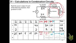 Rivp Chart Combination Circuit Calculations