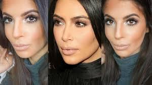 kim kardashian makeup tutorial 2016 neutral eyes lips lets learn makeup