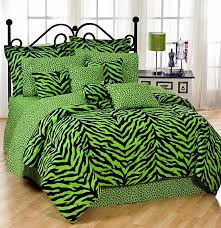 arguably one of the oddest bedding sets i have ever seen nothing lime green camo bedding