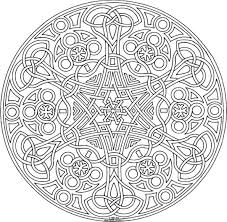 Small Picture Printable Adult Mandala Coloring Pages Coloring Page For Kids
