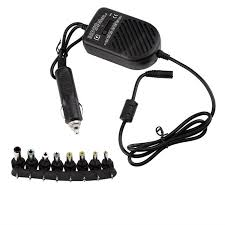 Universal 80W DC Auto Car Power Charger Adapter For Laptop ...