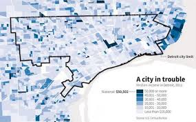 Bankruptcy Median Income Chart Charts In Focus Detroit Files For Largest City Bankruptcy