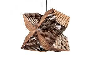 plywood lighting. Sliced Plywood Lamp, Pendant Light, Wooden Lampshade, Odesi, Alex Groot Lighting