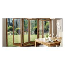 Solid Oak Pre Finished External Bifold Doors 2090 X 2990mm Solid