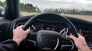2016 Dodge Charger Scat Pack cold start and 0-60 - YouTube