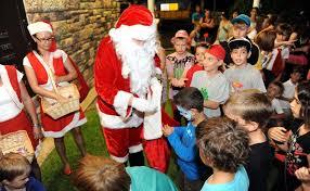 full schedule santa keeps himself occupied his reindeer overseeing his elves toy