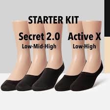 Sheec <b>Unisex No</b> Show Socks Starter Kit