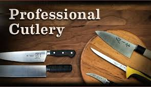 PIECE PROFESSIONAL CHEFu0027S KNIFE SET  BY DOLOMITEN INOXProfessional Kitchen Knives