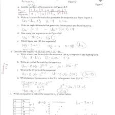 Arithmetic Sequence Worksheet Answers Math Algebra Sequences Fingrei Com
