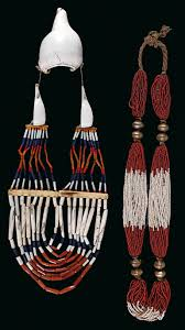 mixed lot 2 items india tribes naga and gondh 2 large necklaces one from the naga