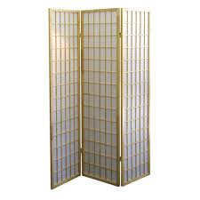 home decorators collection  ft natural panel room divider