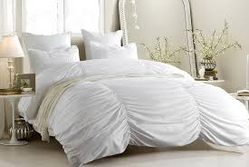 cal king duvet cover white