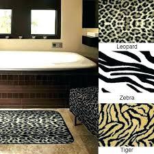 room animal print bathroom set leopard rug animal print bathroom set leopard