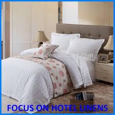 king size hotel white stripe duvet cover