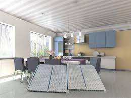 decorative ceiling tiles. PVC Decorative Ceiling Panels / Waterproof Tiles For Restaurant
