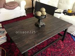 hemnes coffee table black brown awesome i did it and so can you i transformed this ikea hemnes coffee