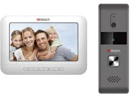 <b>HiWatch DS</b>-<b>D100K</b> - <b>комплект</b> аналогового видеодомофона