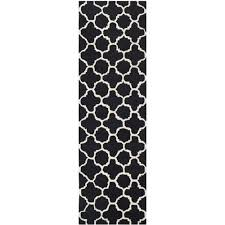 safavieh cambridge black transitional rug runner 2 6 x 10 rugs carpets best canada
