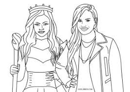1024 x 1024 file type: Free Printable Descendants Coloring Pages For Kids