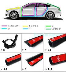 car door rubber sealing strip full car emdp door seal sound insulation rubber strip sealing strips