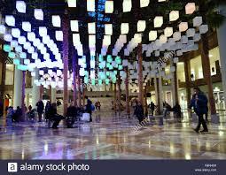 luminaries spectacular lighting display. Luminaries - A Spectacular Lighting Display At The Winter Garden, Brookfield Place, New York City, S