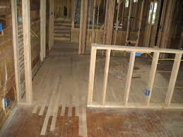 Engineered Wood Floor In Kitchen Installing Red Oak Hardwoods Green Button Homes