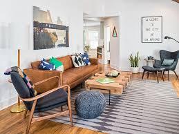 Mid Century Modern Living Room Furniture Gorgeous Airy Mid Century Modern Living Rooms Living Room Cabin