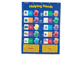 Learning Resources Birthday Pocket Chart Pocket Charts Learning Tree Educational Store Inc